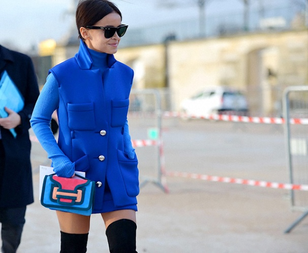 la-modella-mafia-Paris-street-style-Fall-2014-fashion-week-Miroslava-Duma-via-citizensoffashion