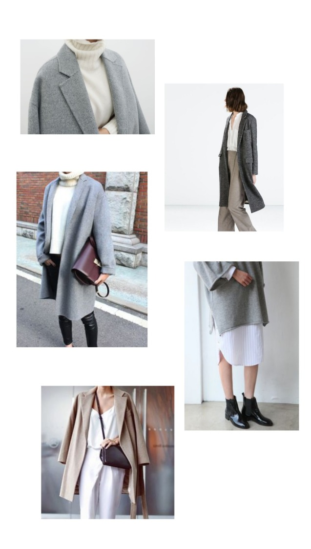 Grey and cream collage