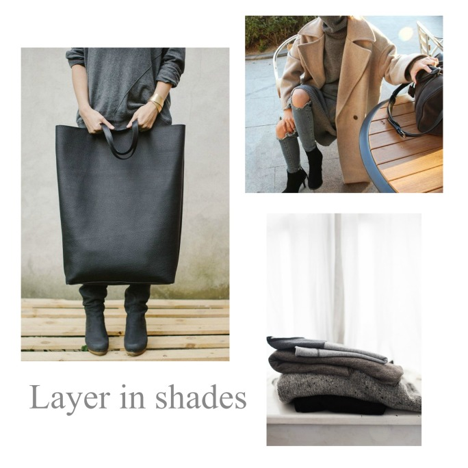 Layer in shades 1