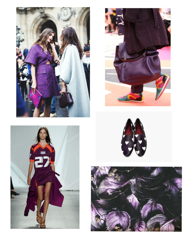 purple haze collage